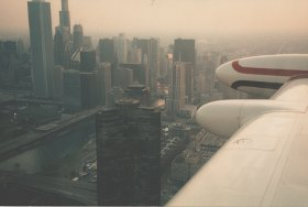 Anflug Chicago